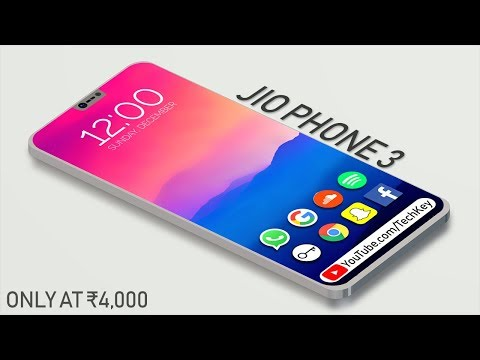 Jio Phone 3 With 5G SIM, Whatsapp, Hotspot, Dual Camera, Android Oreo, Price & Launch Date (Concept)