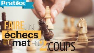 Le mat en 2 coups aux échecs