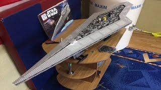 КАК Я СОБИРАЛ КИТАЙСКИЙ ЛЕГО СУПЕР ЗВЕЗДНЫЙ РАЗРУШИТЕЛЬ? (UCS Super Star Destroyer Building Process)