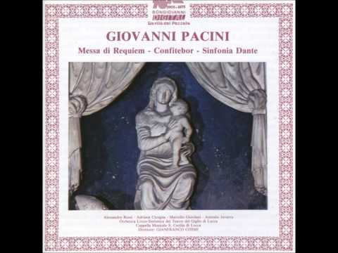"Giovanni Pacini ""Requiem to the Memory of Vincenzo Bellini"""