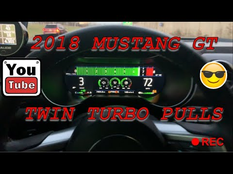 Driving the built twin turbo 2018 mustang GT 10R80 AKA #TICTOC