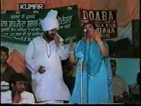 """Mohd Sadiq and Ranjit Kaur """"""""Akhara Live 2001 """""""