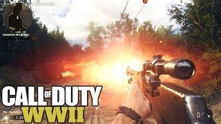 Call of Duty WW2 - Funny Brutal Random Kills Multiplayer Gameplay