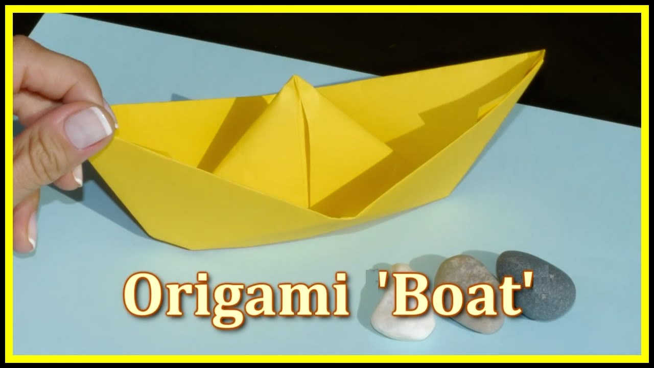 Easy origami make a boat demo childrens educational videos easy origami make a boat demo childrens educational videos games puzzles for kids youtube jeuxipadfo Choice Image