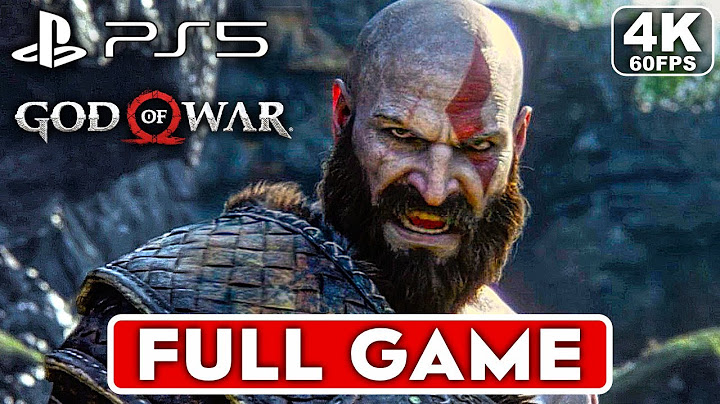 god of war 4 remastered ps5 gameplay walkthrough part 1 full game 4k 60fps  no commentary