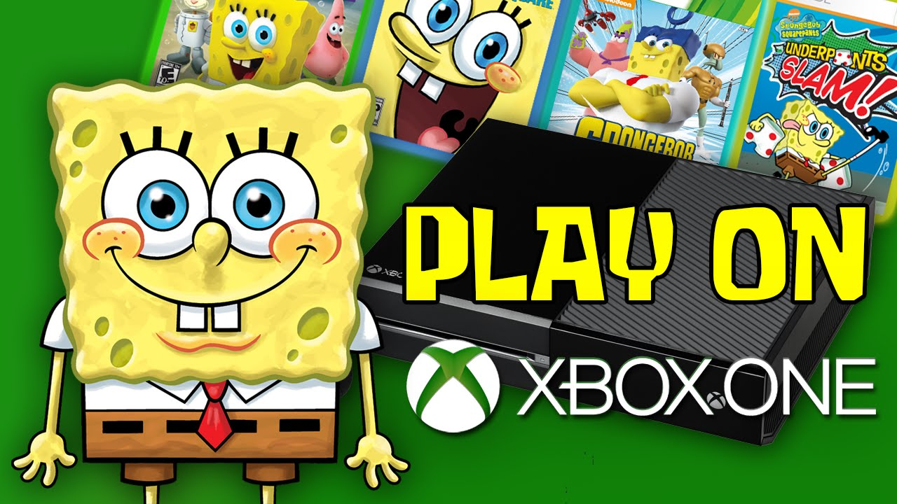 SpongeBob Games Playable on Xbox One Soon    YouTube