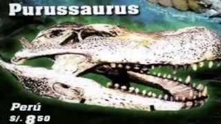 Historia del purussaurus
