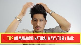 HOW TO Manage Natural Wavy Hair
