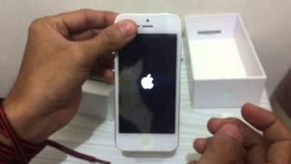 Unboxing Iphone 5 garansi Platinum Bless Bahasa Indonesia