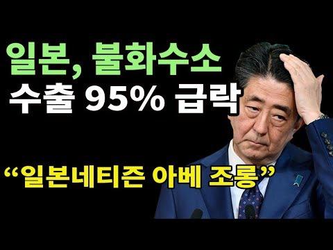 일본 불화수소 수출 95% 급락. 8월, 9월 두 달 연속 일본산 불화수소 수입 '전무'