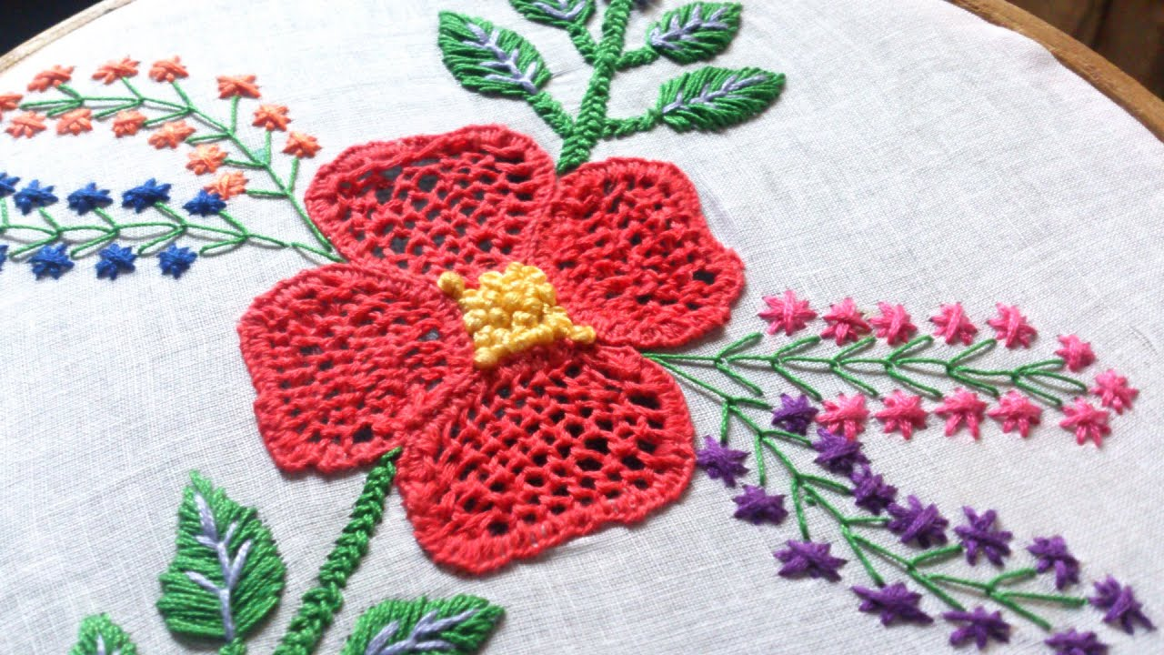 Latest hand embroidery designs pixshark images