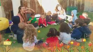 Dancing in the Garden with Miss Lesley