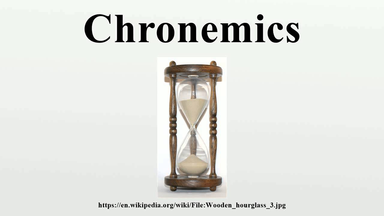 Chronemics Youtube Dear all, today i would like to discuss two concepts: chronemics