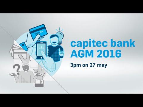 Capitec Bank | Annual General Meeting Live Stream | 27 May 2016