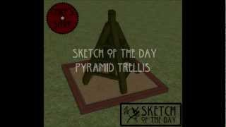 Chief's Shop Sketch Of The Day: Pyramid Trellis