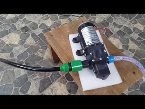 HIGH PRESSURE CAR WASH PUMP 100 WATT 8L per min/ Pompa Cuci Mobil 160 Psi