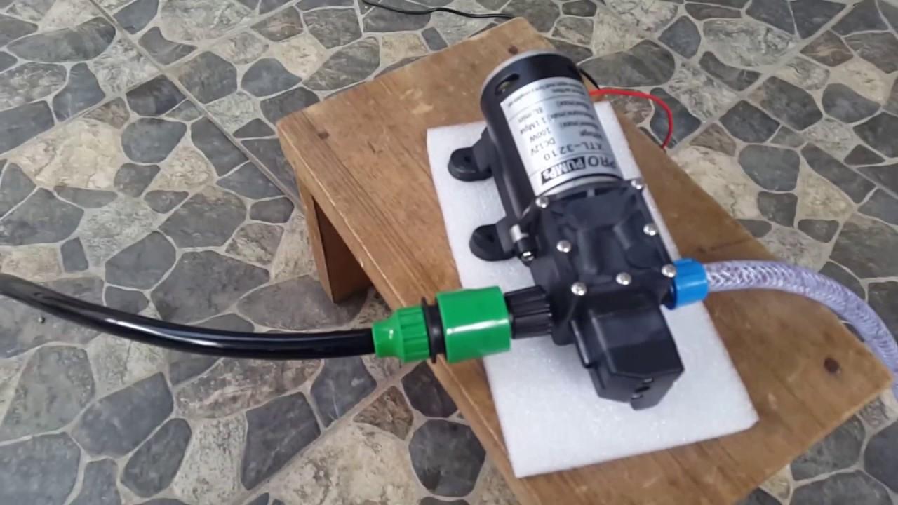High Pressure Car Wash Pump 100 Watt 8l Per Min Pompa Cuci Mobil 160 Psi Youtube