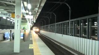 阿武隈急行8100系 太子堂駅到着/Abukuma kyuko 8100series at Taishido Station. thumbnail