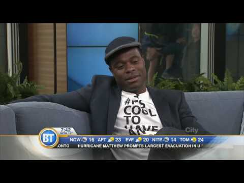 Lyriq Bent chats about his role in the new  'Shoot the Messenger'