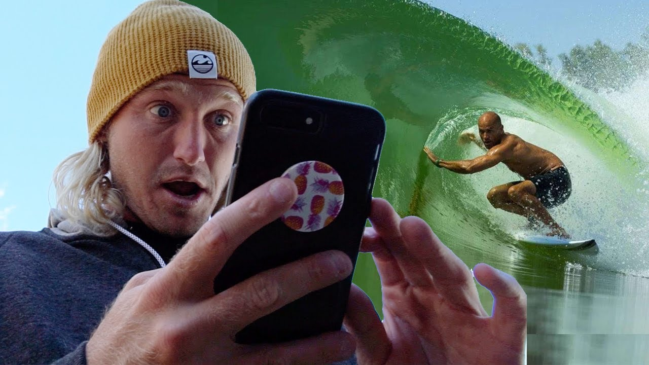 Ben Gravy Gets the Surf Ranch Invite from Kelly Slater!