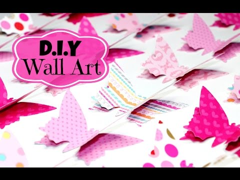 DIY Room Decor Easy Wall Art