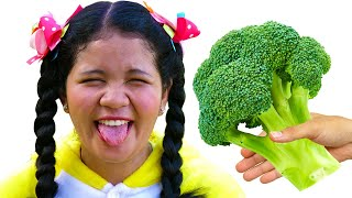 Yes Yes Vegetables Song +More Nursery Rhymes Kids Songs by Johny FamilyShow