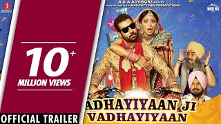Vadhaiyan Ji Vadhaiyan (Official Trailer) Binnu Dhillon | Rel. on 13th July  | White Hill Music