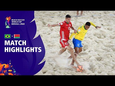 Brazil v Belarus | FIFA Beach Soccer World Cup 2021 | Match Highlights