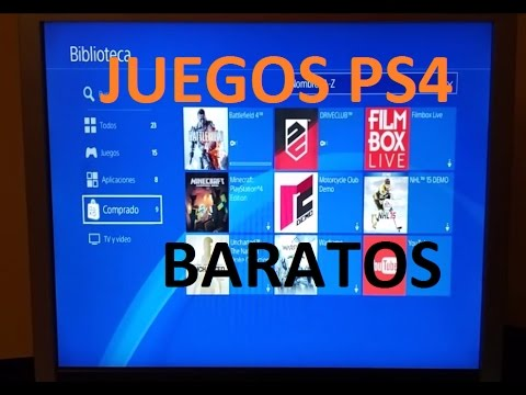 Ps4 Comprar Juegos Baratos Para Playstation 4 Youtube