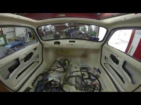 FIAT 500 RESTORATION TIME LAPSE