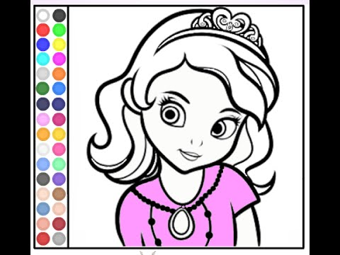 Free Disney Princess Coloring Pages For Girls