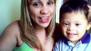 Estimulación de Lenguaje 2 años y 5 meses síndrome de Down
