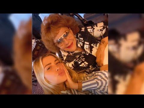 Michelle Salas se reencontró y cantó con su bisabuela Silvia Pinal