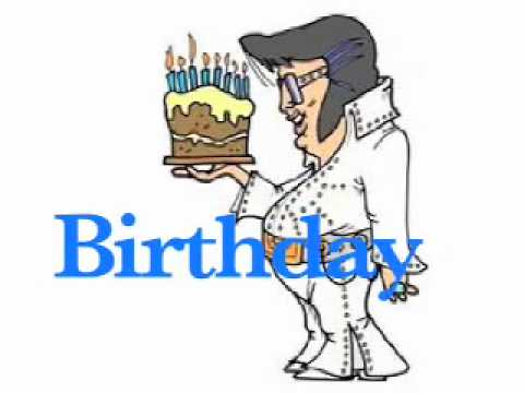 Elvis Presley Birthday Song