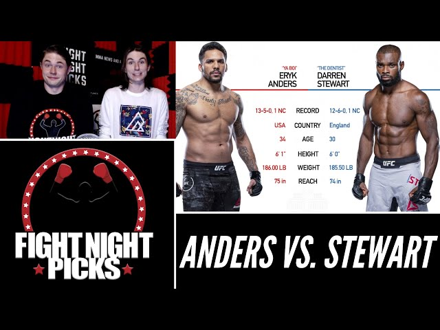 UFC 263: Eryk Anders vs. Darren Stewart Prediction