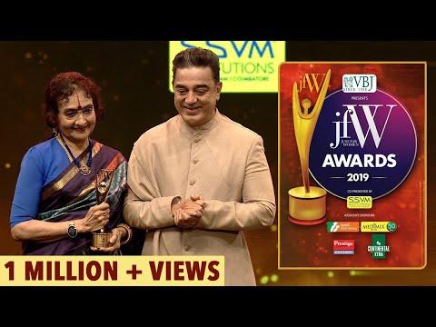 Kamal Haasan - Vyjayanthimala refused to act with me in Viswaroopam | JFW Awards 2019