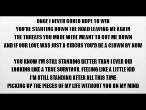 I'm Still Standing - Elton John (Lyrics)
