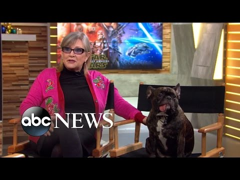 Carrie Fisher Interview with Gary on The Force Awakens