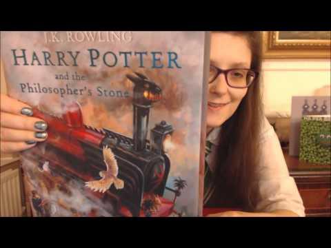 ASMR Harry Potter Illustrated by Jim Kay