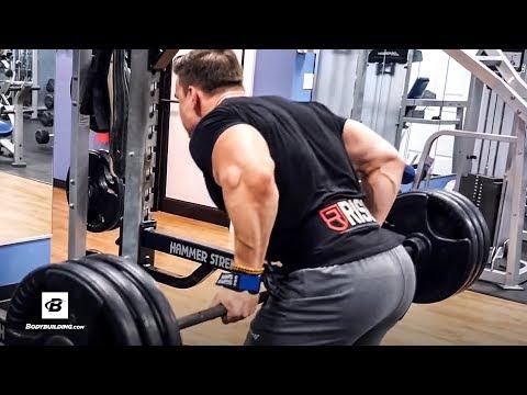Abel Albonetti's High-Volume Heavy Back Workout | Newbie's Beware