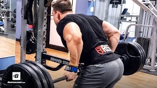 Abel Albonetti's High-Volume Heavy Back Workout | Newbie's Beware