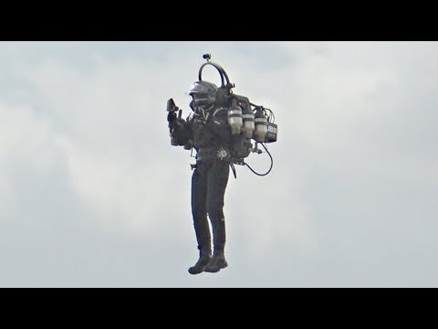 World's Most Advanced JetPack, the JB11 First EVER Flight at Goodwood Festival of Speed 2018