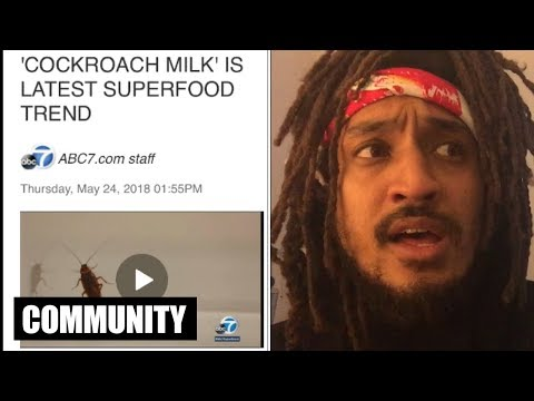 Cockroach Milk Is The New Superfood?! | All Def Community