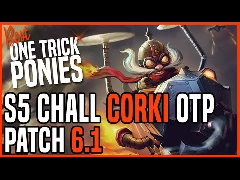 Patch 6.1 Corki ADC OTP - Matchup: Lucian - Ranked Diamond KR
