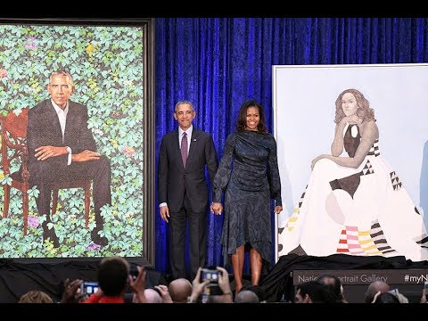 Barack and Michelle Obama portraits unveiled at Smithsonian