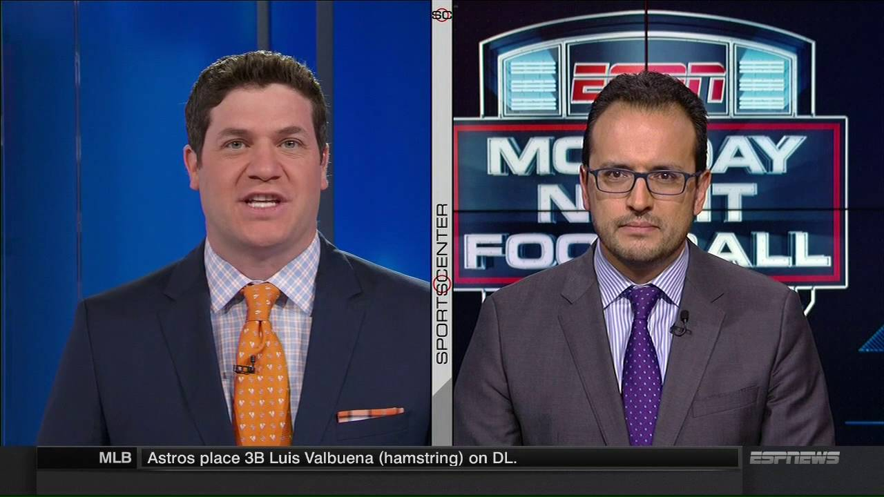 Worst 'Monday Night Football' experience ever? This ESPN reporter fumbles debut