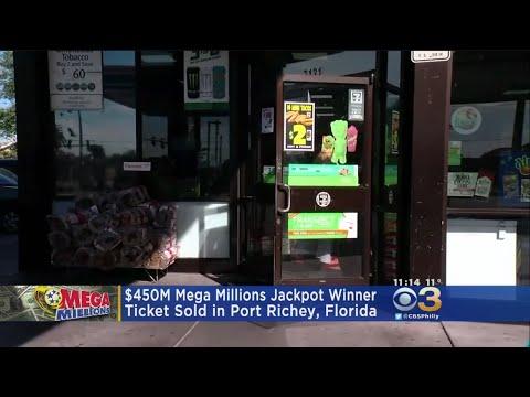Lucky Florida Ticket Holder Hits $450M Mega Millions Jackpot