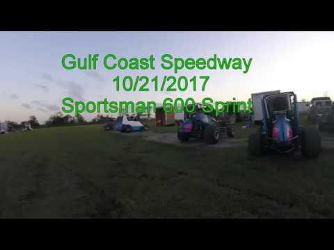 Gulf Coast Speedway 10/21/17 Sportsman Sprint