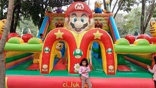 Mainan Istana Rumah Balon Raksasa