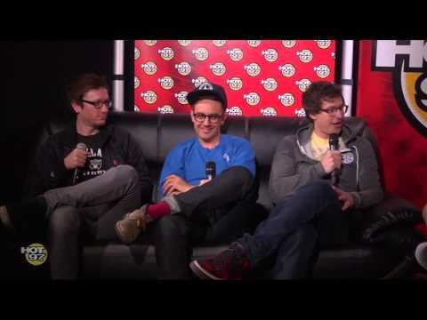 The Lonely Island shares their knowledge of Hip Hop